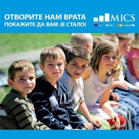 MICS 6 – od 2. septembra do 10. novembra 2019.